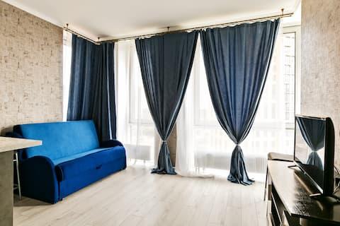 New Star, 1 спальня + большая гостиная