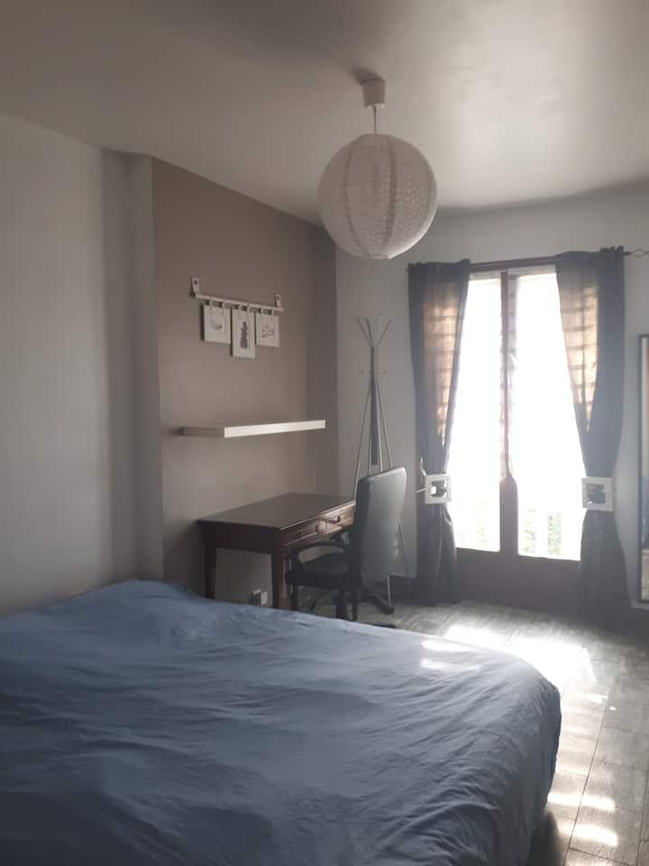 Appartement  T2 dans villa proche de Lyon