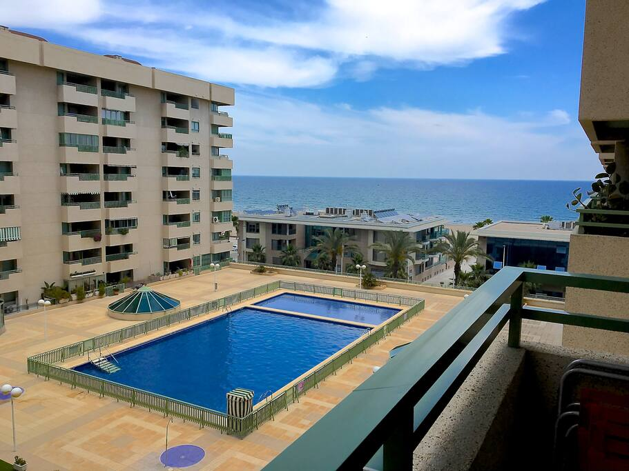 Apartamento playa patacona valencia condominiums for for Piscina patacona