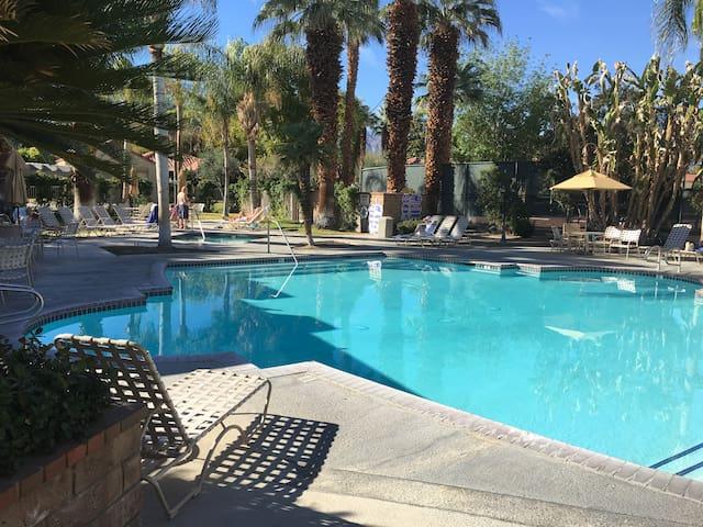 Great Palm Springs Get Away: Oasis Resort Condo!