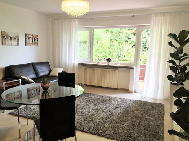 Central+completely new+big balcony+free parking - Baden-Baden - Lägenhet
