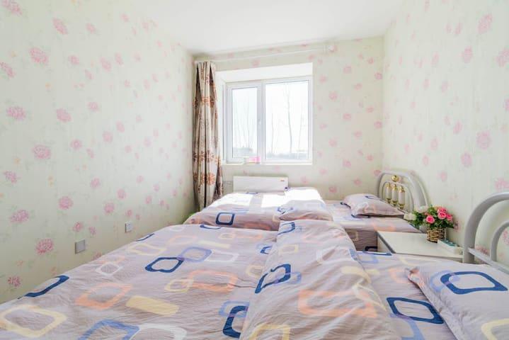 新国展附近两居室 近邻首都机场,转机住宿可以接送 - Peking - Wohnung