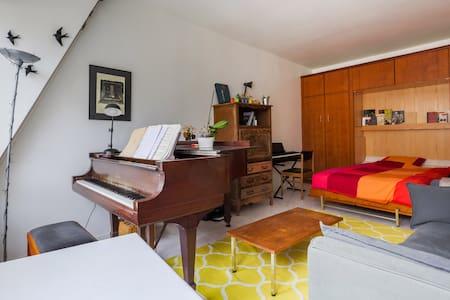 Grand & beau studio centre de Paris - París - Departamento