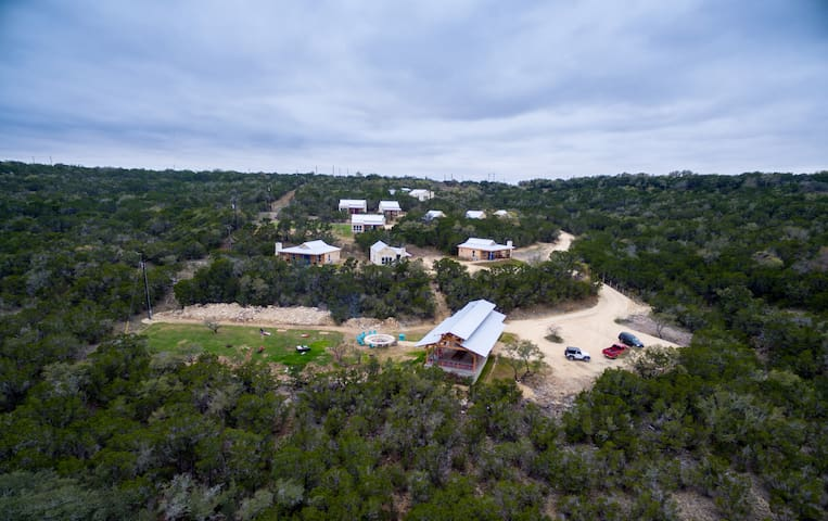 Hill Country Casitas & Retreat, 10 Casitas sleeps up to 40, pavilion & meeting space