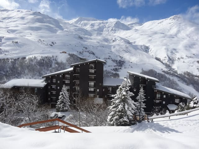 Les menuires - appartement style montagnard - Saint-Martin-de-Belleville - Byt