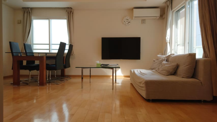 LIKE A SUITE! Exceed 70 square meters. Sapporo St.