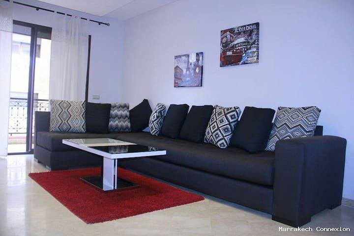Agréable appartement en plein centr