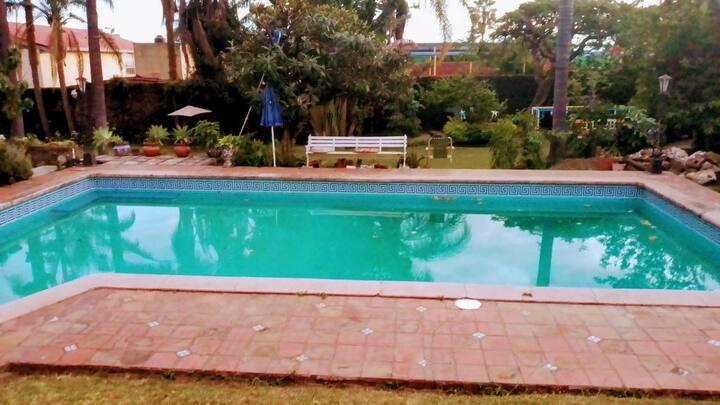 Bungalow privado amueblado en Cuernavaca