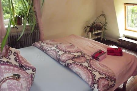 Erstes Zimmer im Haus mit See - Drage bei Itzehoe  - Casa