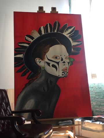 Artist Loft: Puerto Rico Town