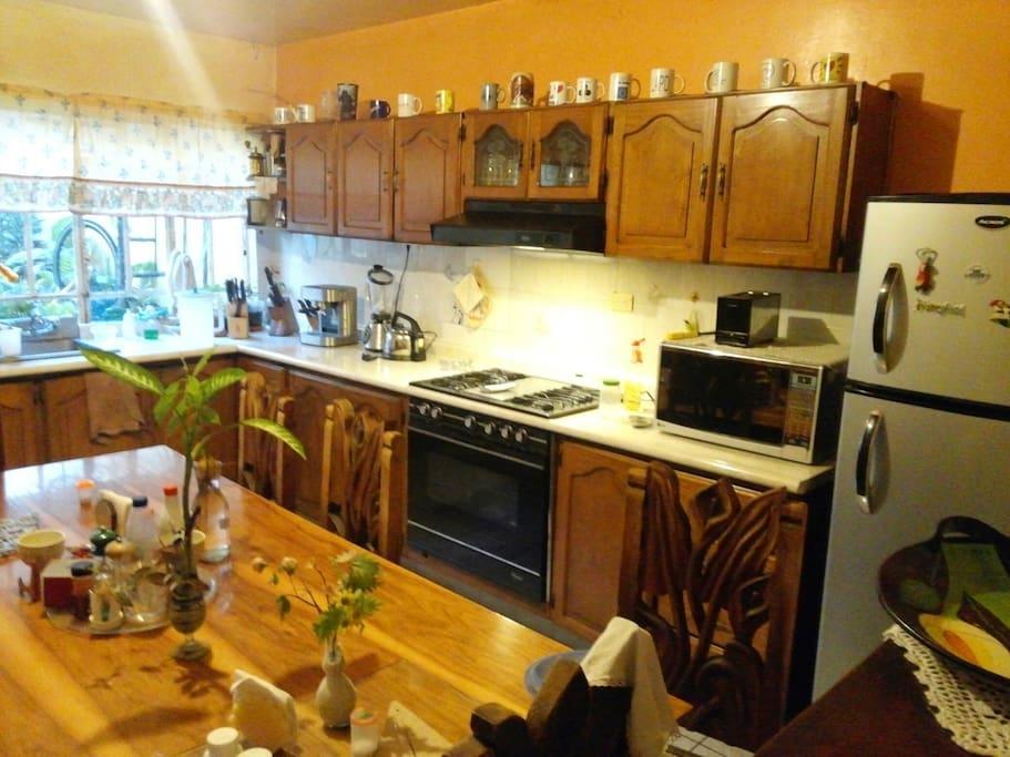 Habitaci n privada centrica con cocina compartida houses - Aki grifos cocina ...