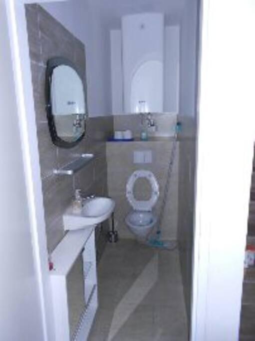 Toilette am Flur