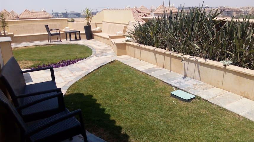 2 bedroom private garden at El Safwa Resort