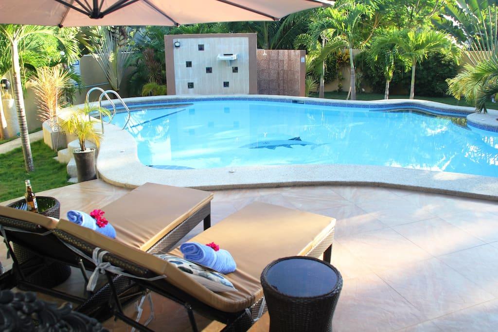 private pool access