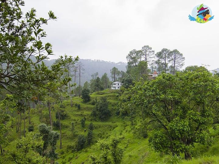 Escape Roots a Homestay in Binsar