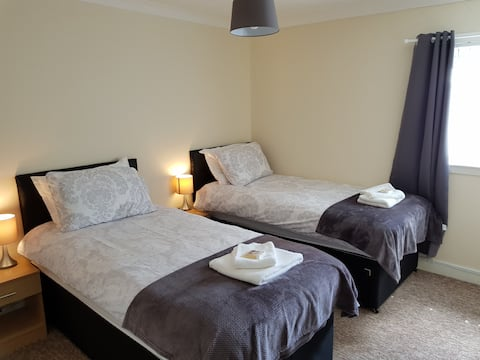 Central Scotland Home from Home, 3 Bedrooms 5 Beds