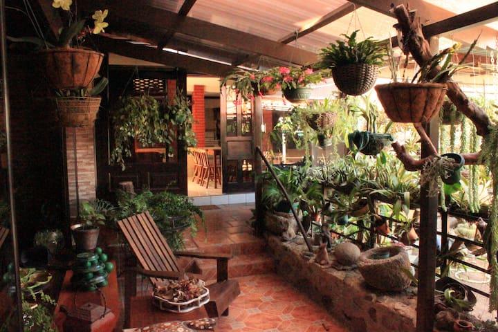 The Garden house!