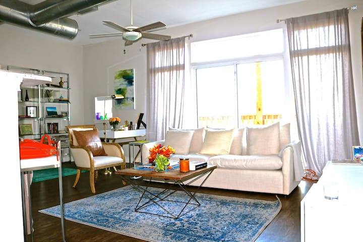 Loft Apt in Southside District-Private Room - Chattanooga - Byt