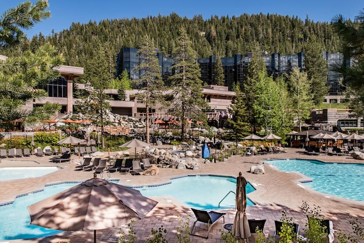 Enjoy access to 3 heated pools and 3 spas.