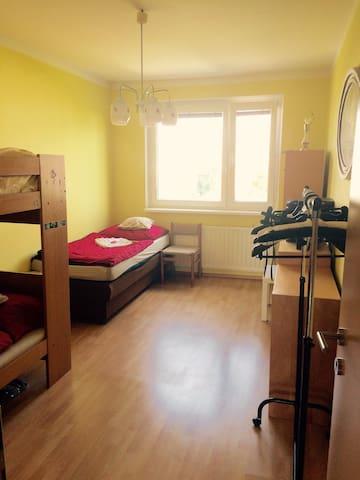 Cosy bedroom in our flat - Bratislava - Byt