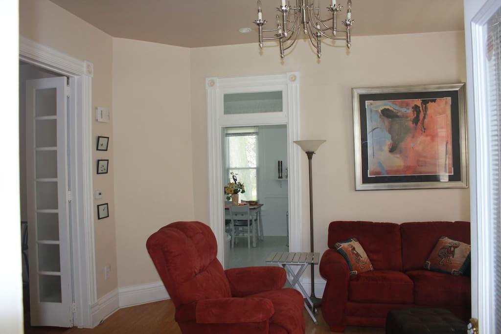 Living room - from front door