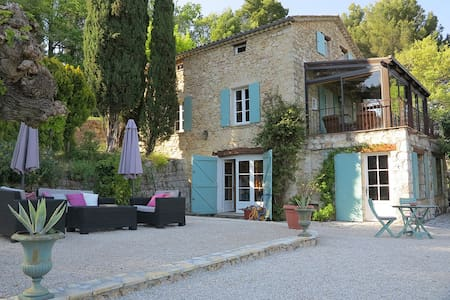beautiful Old Mas in olive's trees - Seillans - Haus