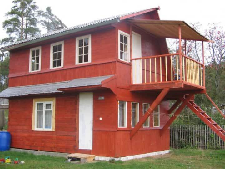 Гостевой летний дом на берегу Ладожского озера