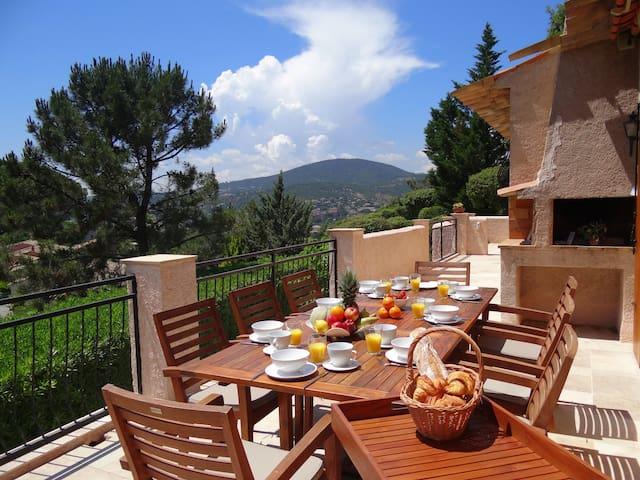 Rustig gelegen villa in residentiële buurt -8pers - Sainte-Maxime - Villa
