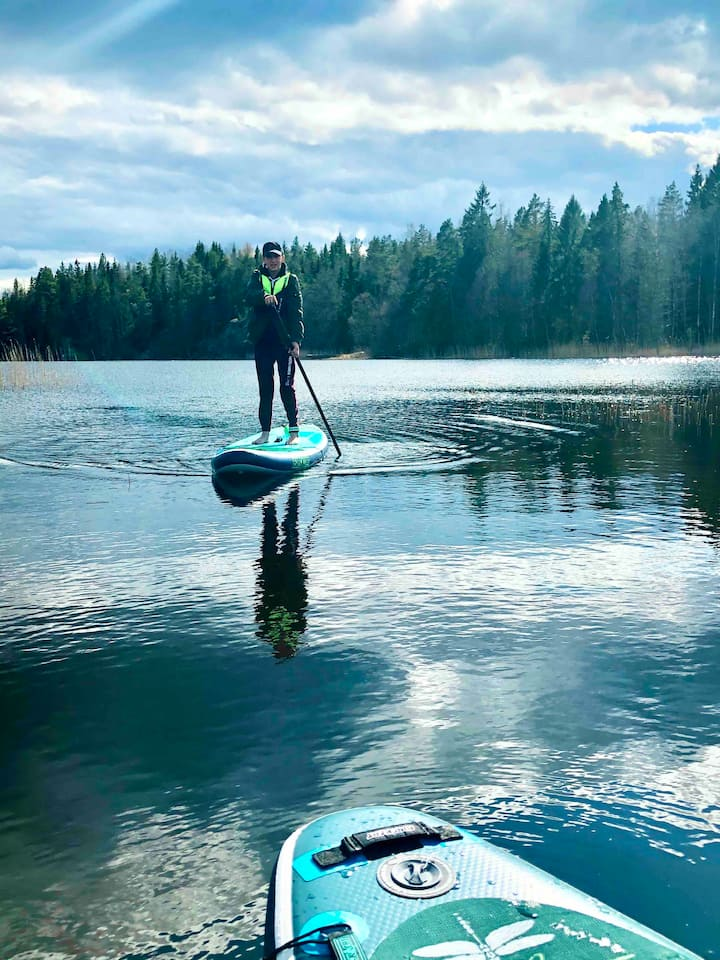 Enjoy life at South End of the Lake - disinfected