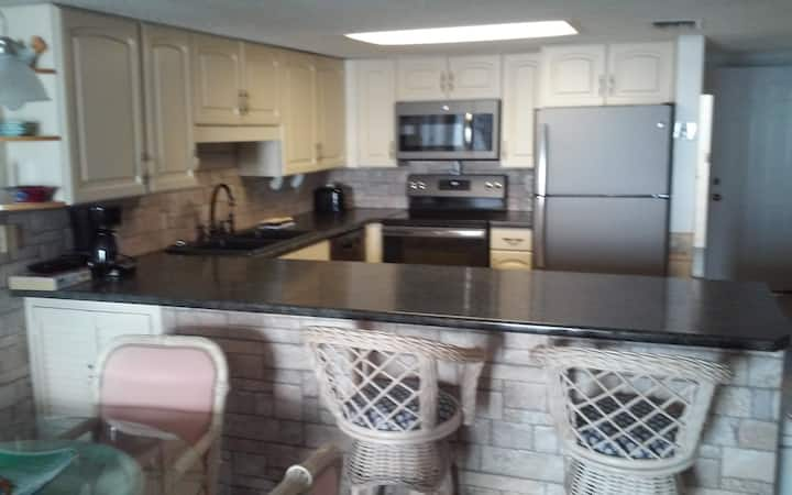 3 BEDROOM N. MYRTLE BEACH OCEAN FRONT CONDO #406