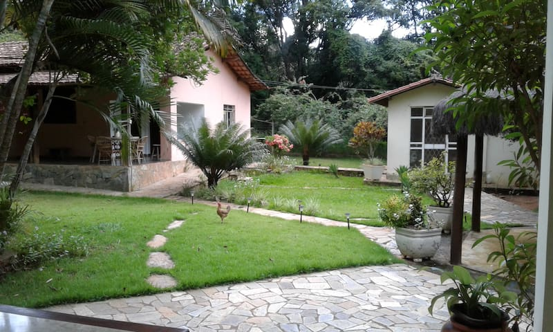 Lovely small farm - Lagoa Santa - Huis