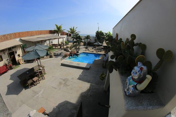 Casa de Playa Peacefull