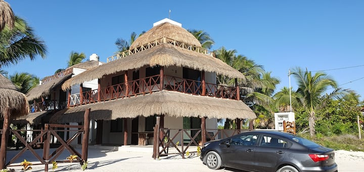 Villas Chac Chi El Cuyo, Yucatán, Mexico.