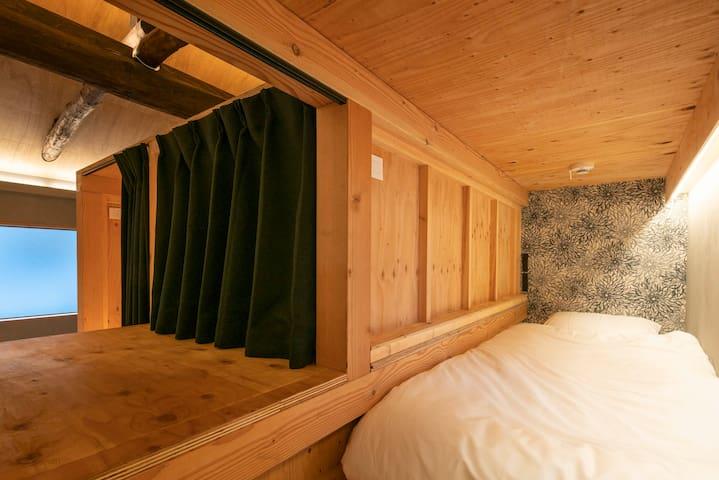 Bedrooms view