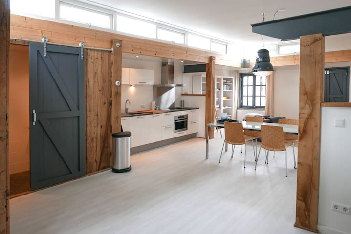 Unique loft in former workshop with garden. - Oosterbeek - Appartamento