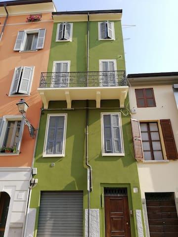 Luminoso appartamento in centro storico.