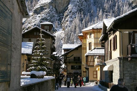 Inverno e sci a Gressoney Saint Jean - Aosta Valley - Leilighet