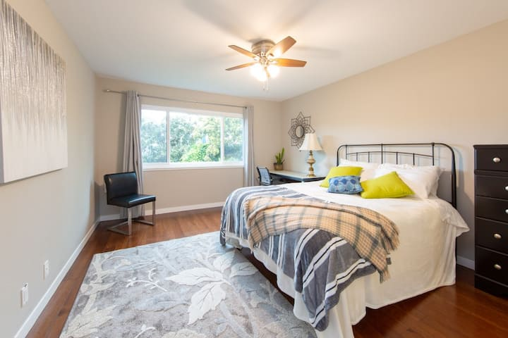 Immaculate Master Suite by SF General Hospital