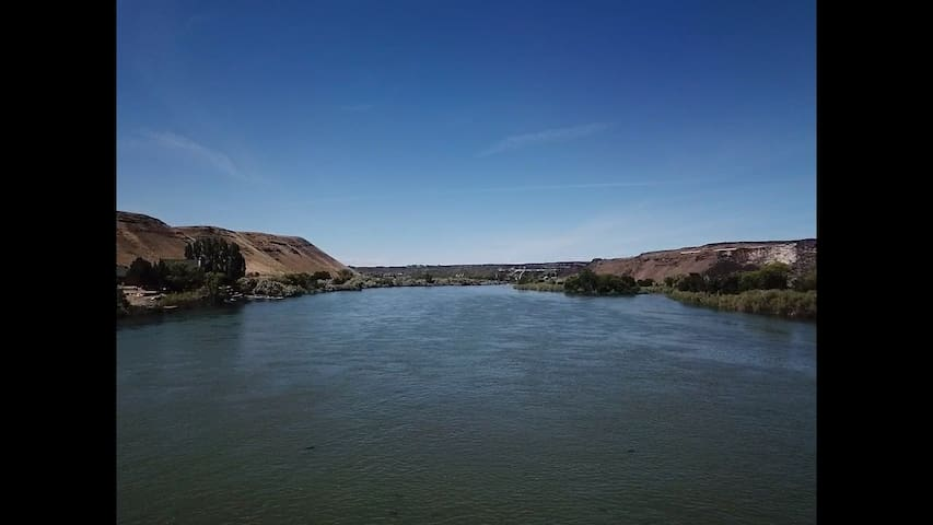 Hagerman Scenic route (Access to the snake river)
