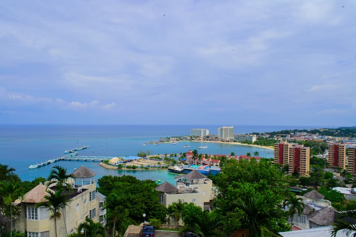 2 Bedroom Apt. with Spectacular View of Ocho Rios - Ocho Rios - Villa