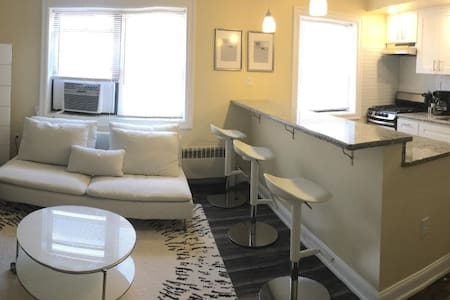 Contemporary Modern 2bed Apt w/park 15Min to NYC - North Bergen - Διαμέρισμα
