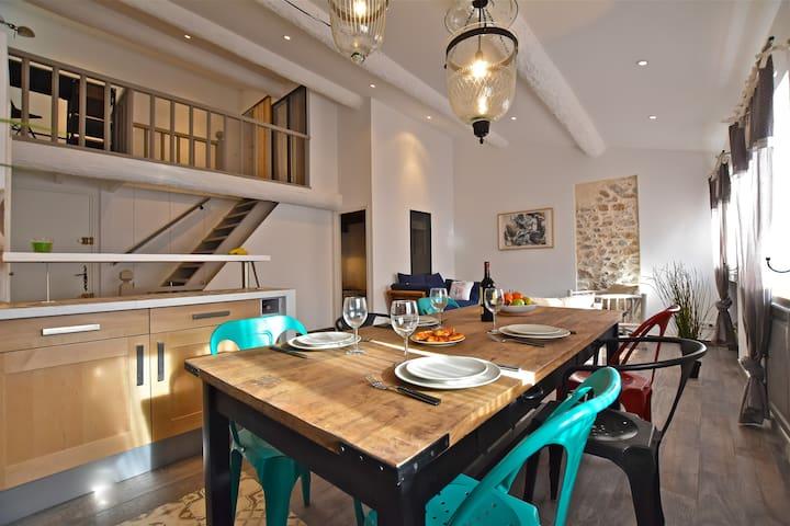 Maison avec terrasse Vieil Antibes