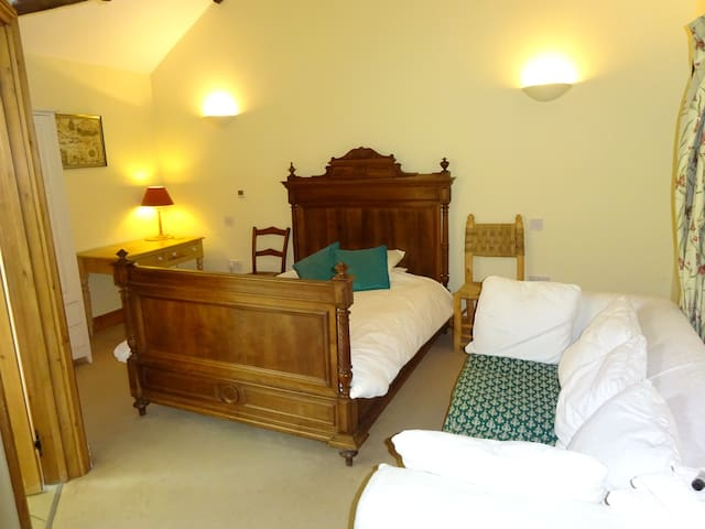 The Old Farmhouse - a double bedroom
