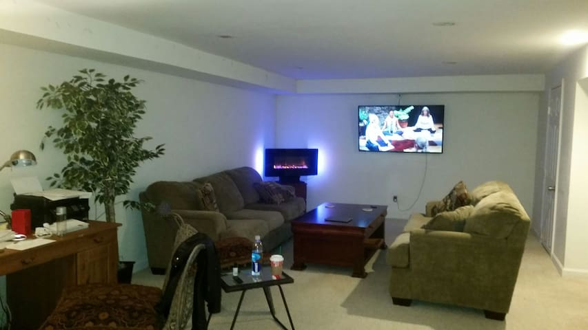 Entire lower level. Spacious, clean - Commack