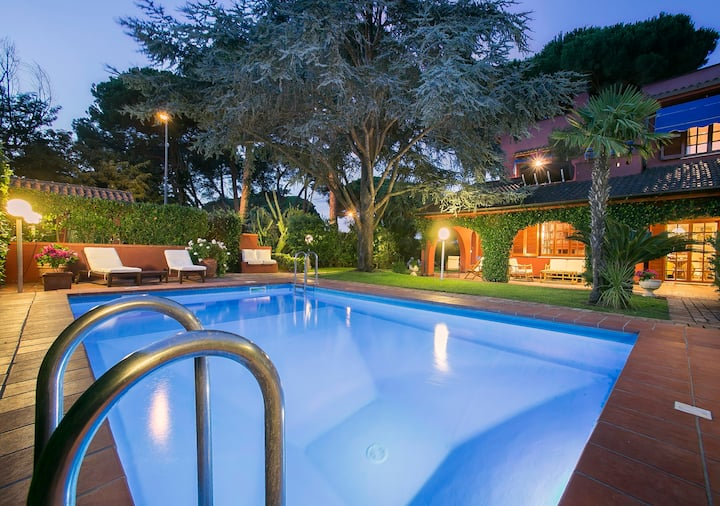 Luxury Villa private pool Circeo up to 8 people