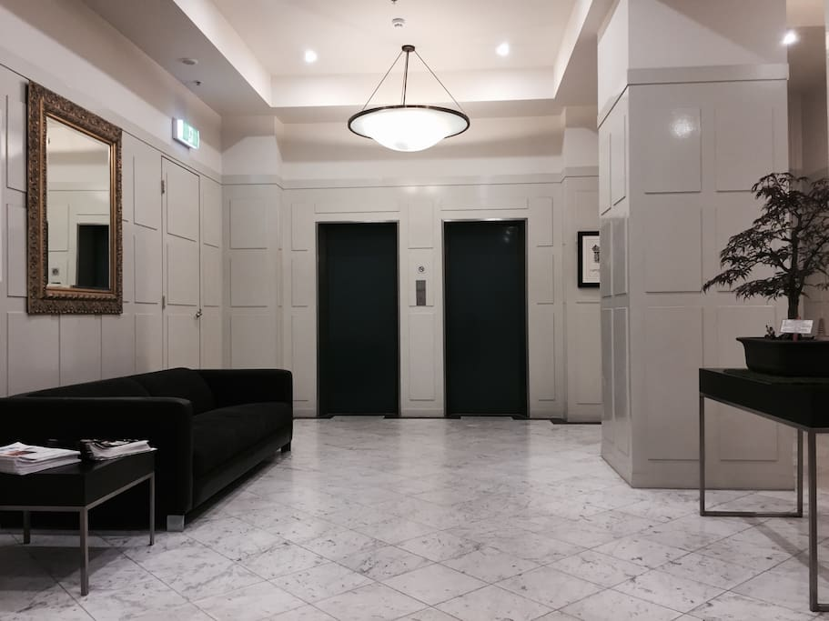 quaint lobby