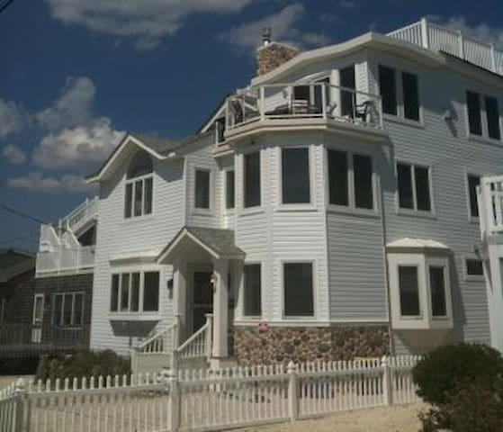 Ocean views-multi family/retreats - Long Beach Township - Casa