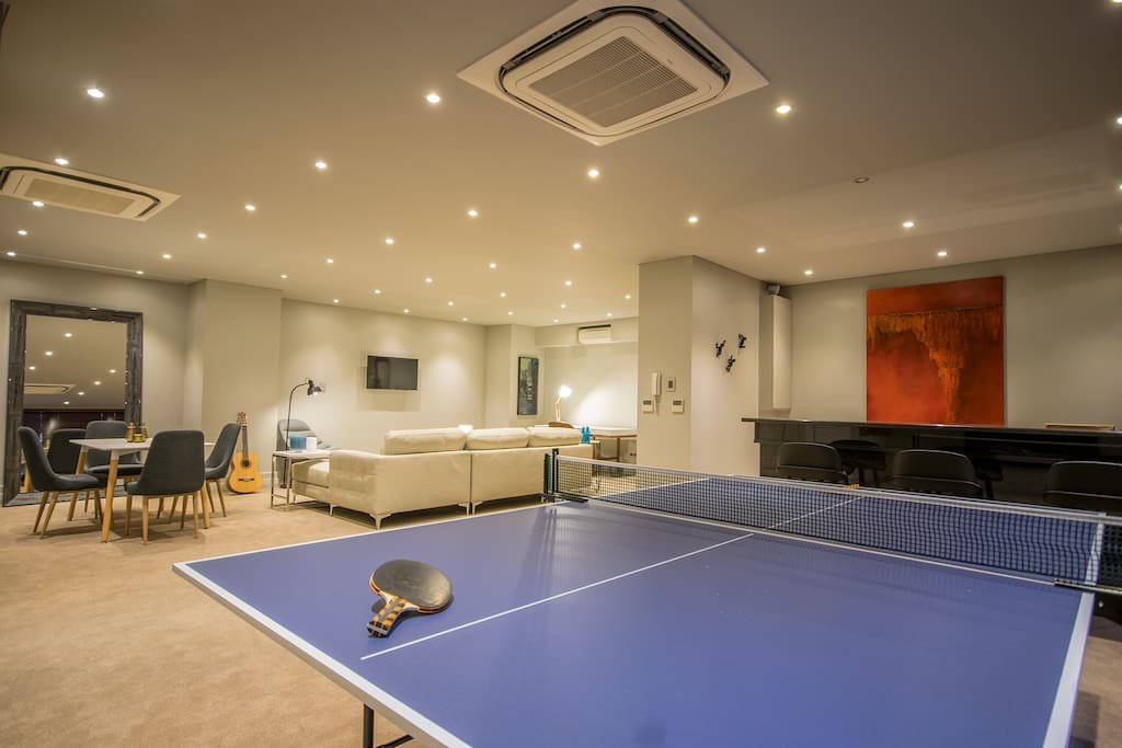 Table Tennis/Ping Pong. Wahoo!