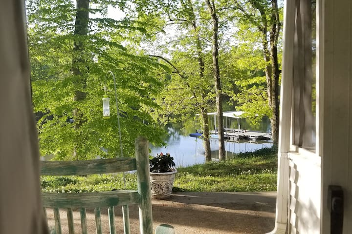 Waterfront Serenity with boat dock