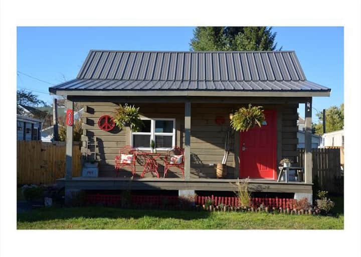 Adorable Tiny Home in Davis!  Close to breweries! Pet friendly!  TPZ